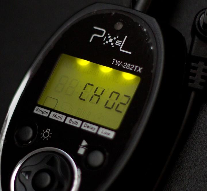 Dálková spoušť Pixel TW-282
