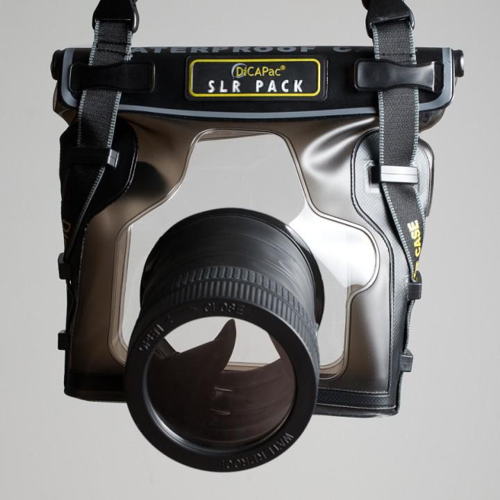 Podvodní pouzdro DiCaPac WP-S10 - první pohled