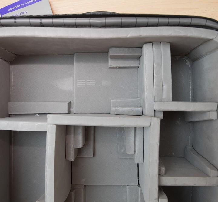 Výroba fotozavazadla na kolečkách
