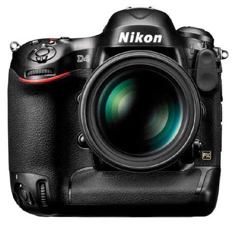 Představen Nikon D4 (vs Canon 1D X)