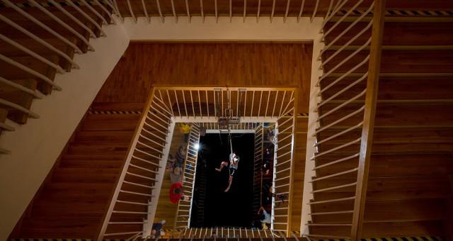 Šplh schodištěm