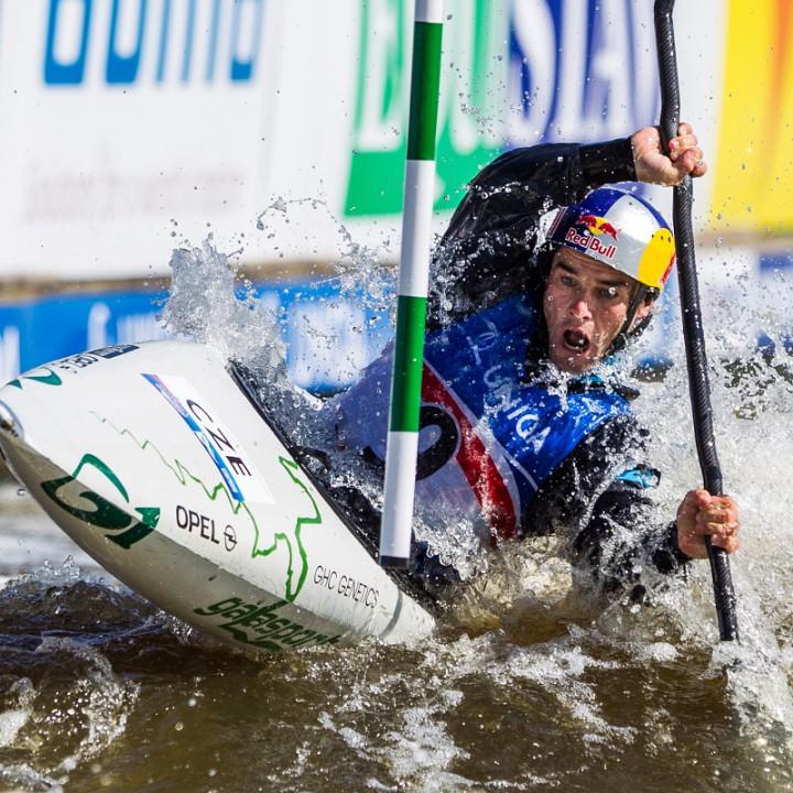 MS ve vodním slalomu