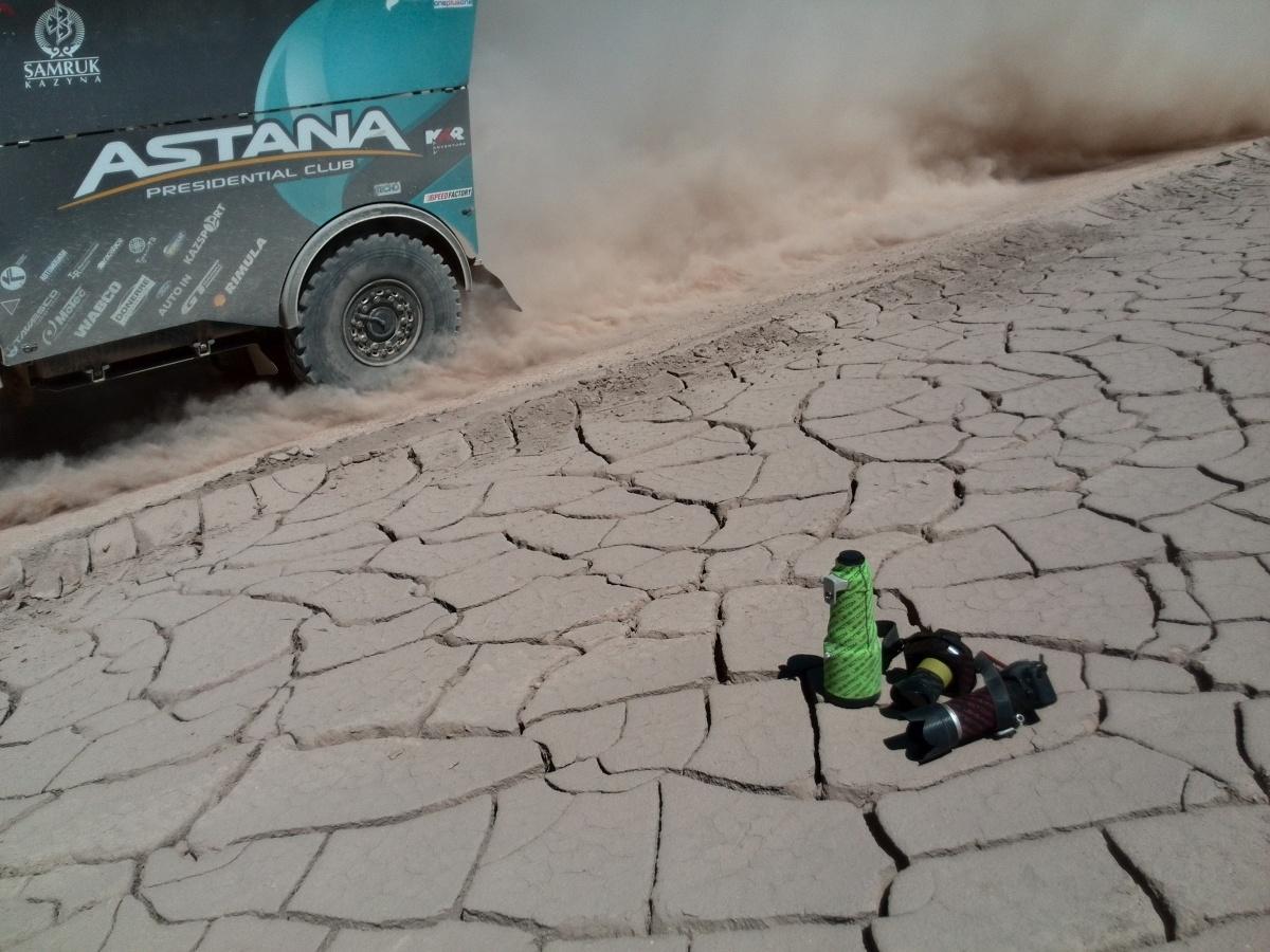 Lensprotect na Dakaru