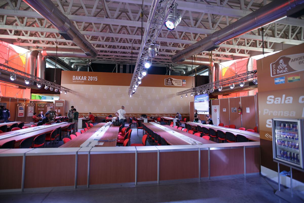 Tiskové centrum v BA. Poprvé a naposledy s internetem zdarma