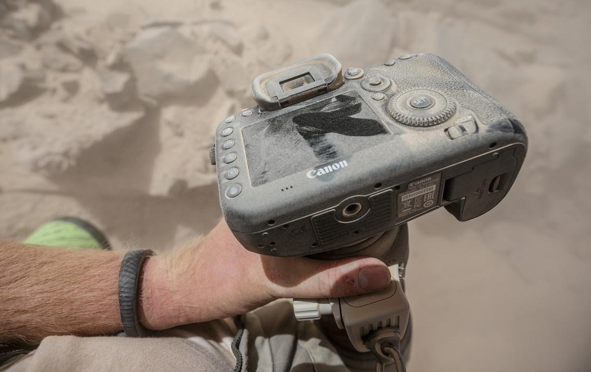 Canon 7D Mark II po pár takových průjezdech