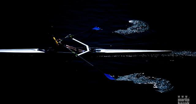 Kontrolní závod veslařů