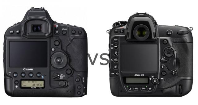 Canon nebo Nikon? Papírové porovnání vlajkových lodí Canon EOS-1D X Mark II proti Nikonu D5