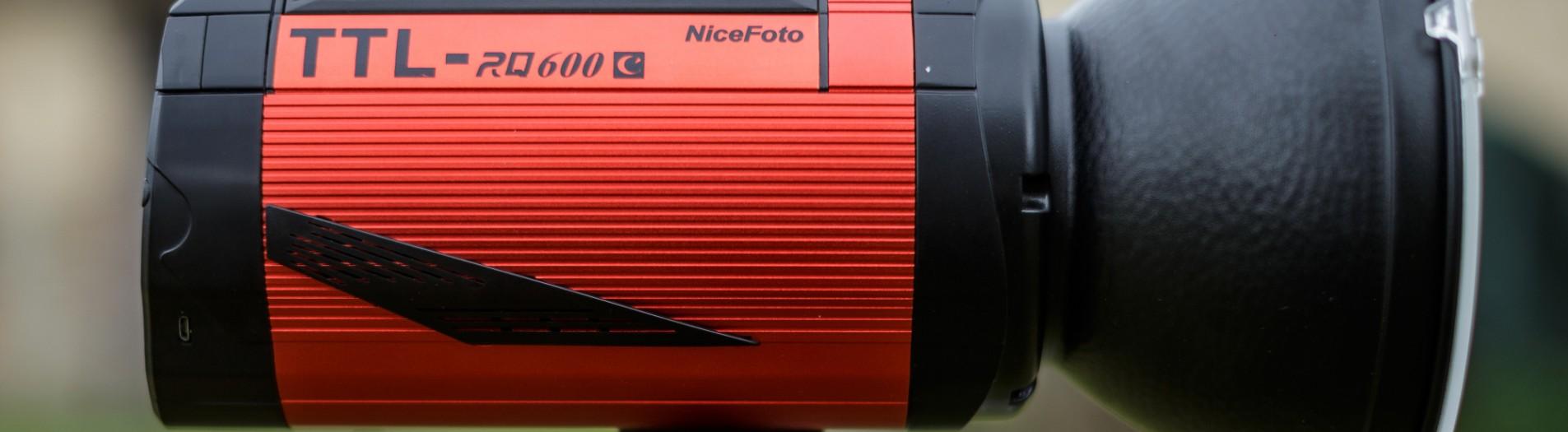 Recenze: studiový bateriový blesk NiceFoto TTL-RQ600C