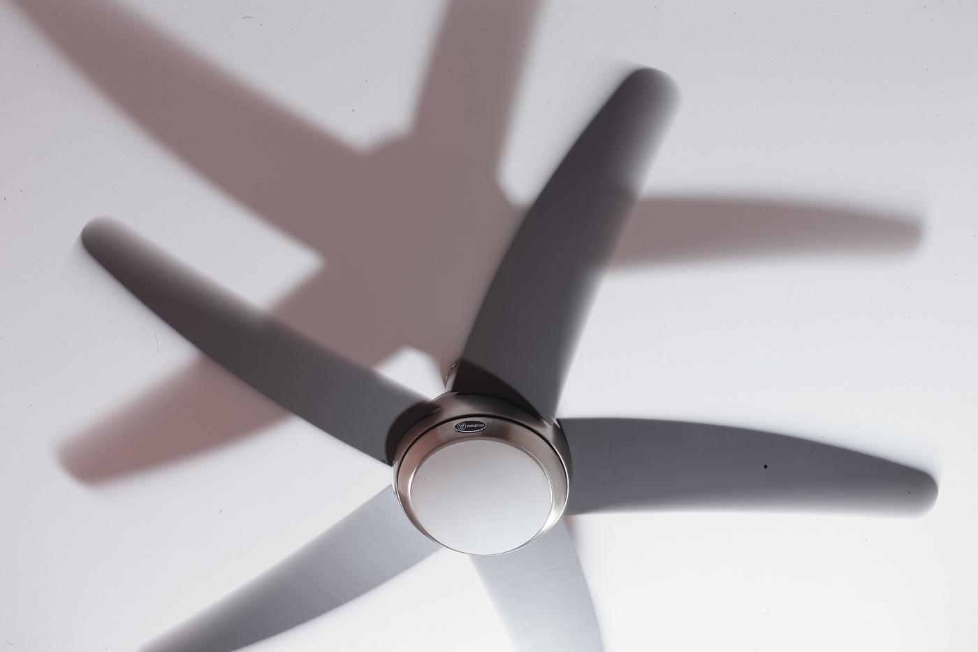 Roztočený ventilátor a NiceFoto na plný výkon