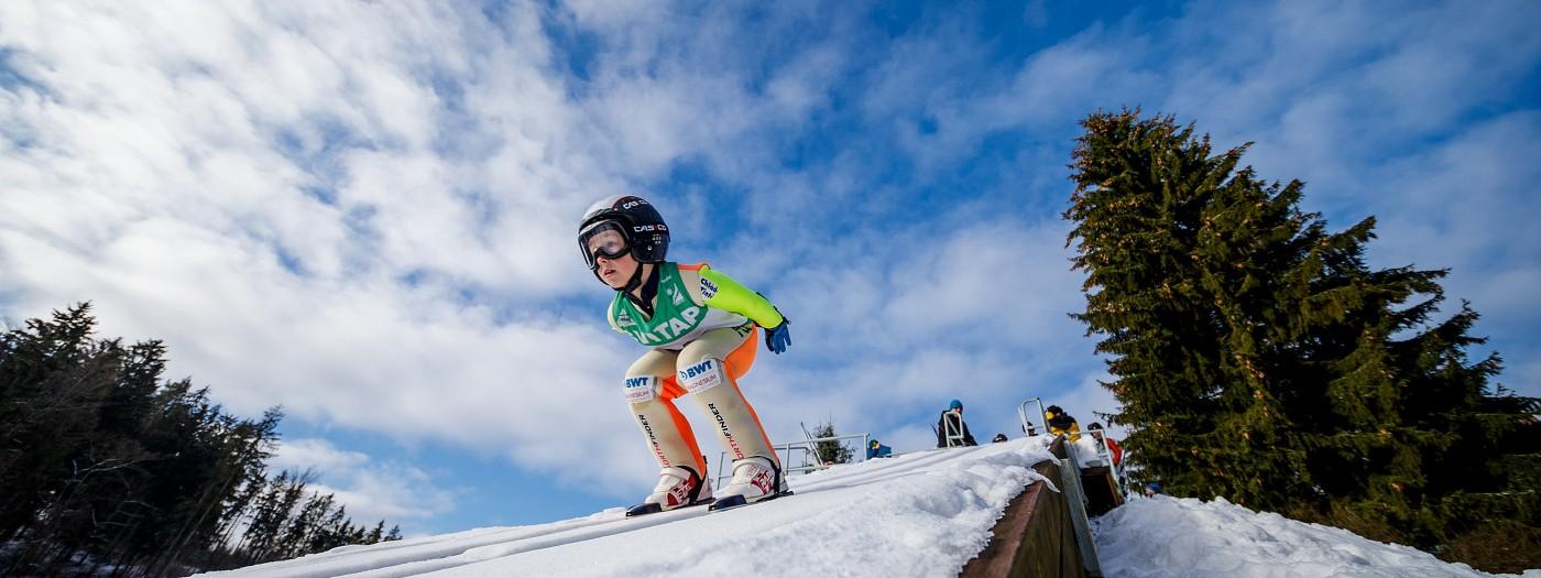 RKZ žactva ve skocích na lyžích
