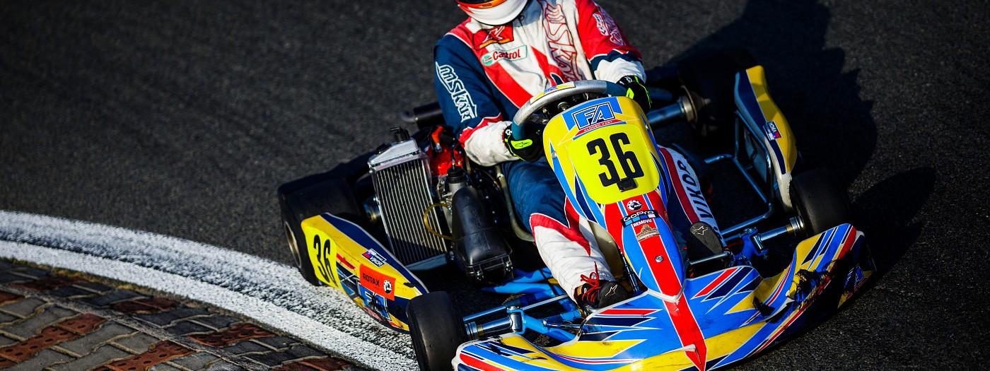 Moravský pohár a Mistrovství Slovenska v kartingu
