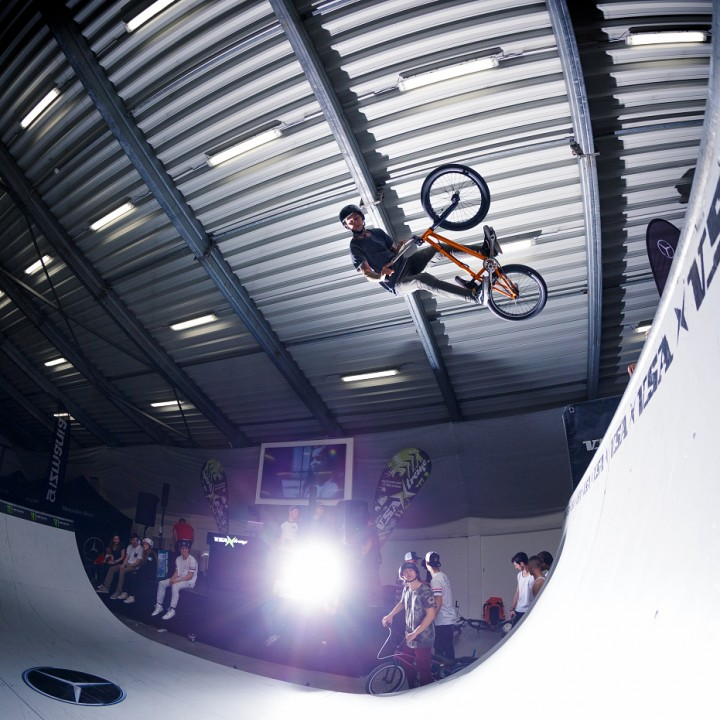 Mercedes Benz For BMX Jam
